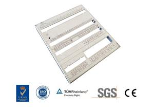 Galvanized Mild Steel Parts Laser Cutting