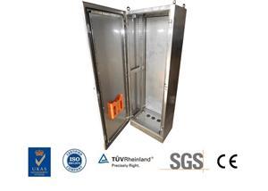 कस्टम स्टेनलेस स्टील इलेक्ट्रिकल कंट्रोल पैनल बॉक्स कैबिनेट