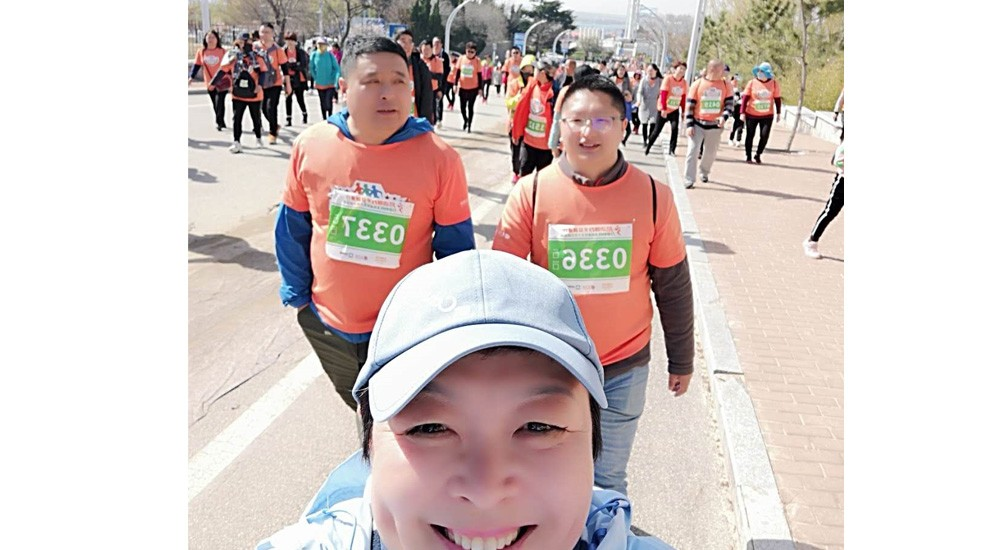 10 km walking in Apr.14,2019