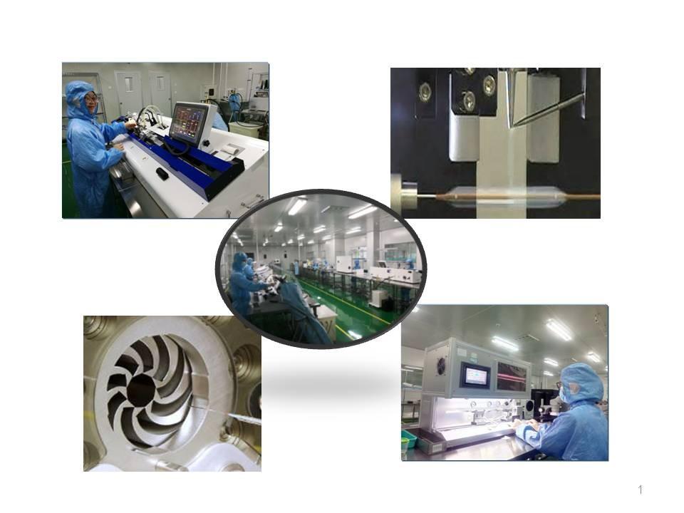 peralatan pembuatan kateter belon dan belon