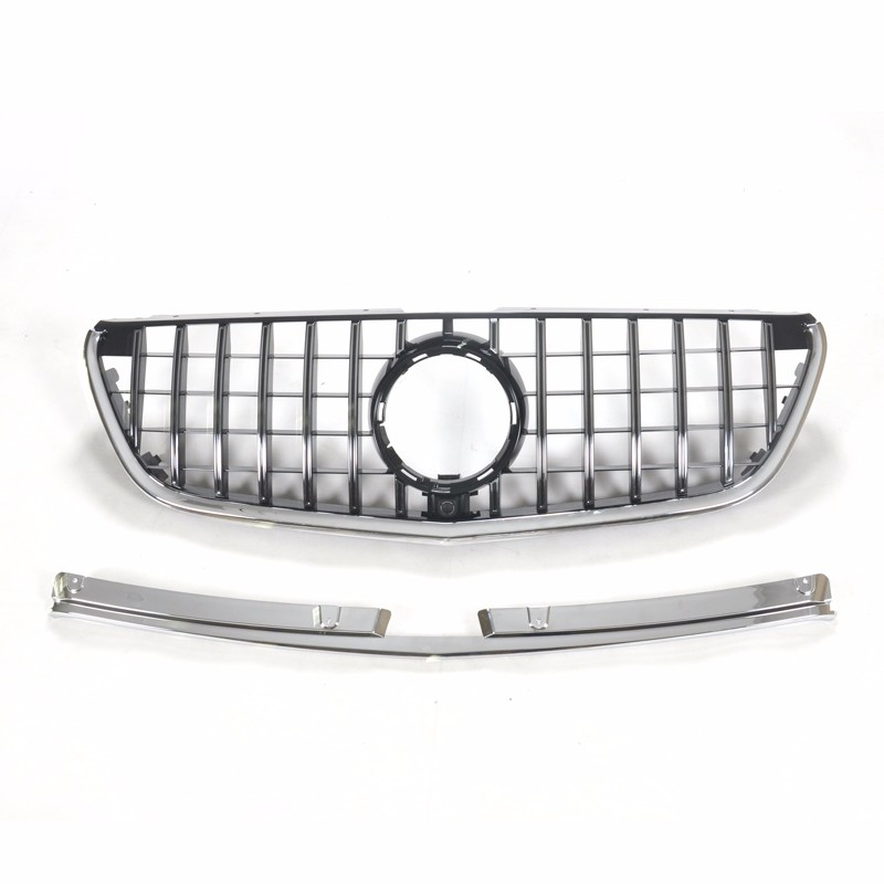 Auto tunning honeycomb GT grill for BENZ VITO 2016+