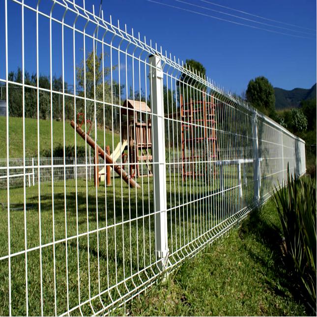 2D Plain Panel Fencing