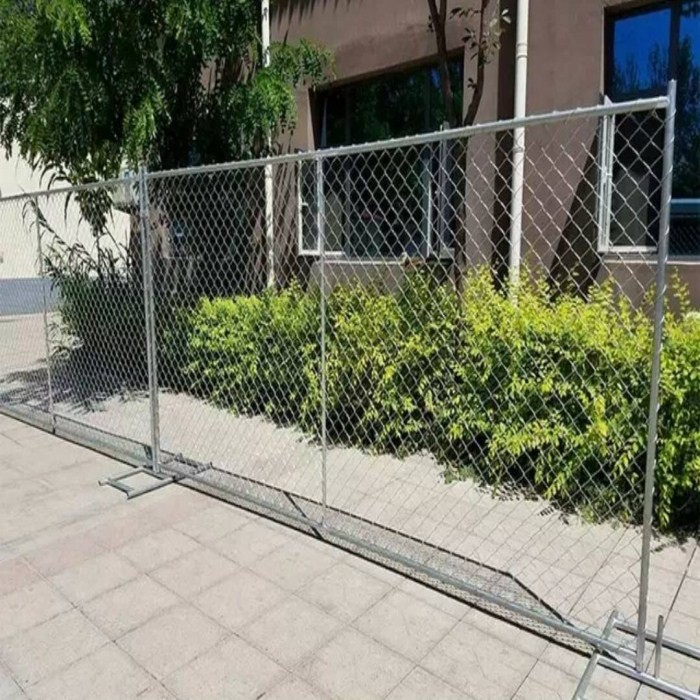 8ft height Temporary Chain Link Fence Panels