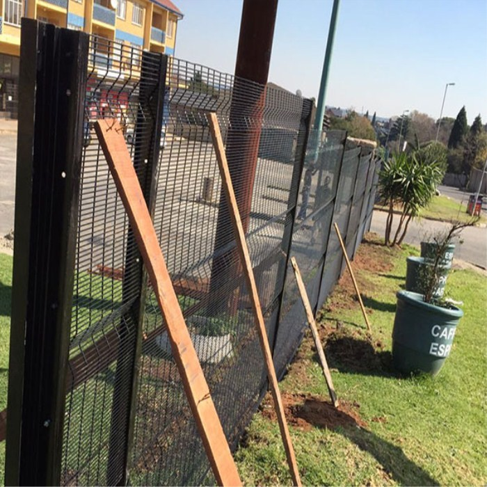 PVC Coated 358 Anti Climb Welded Mesh Fence