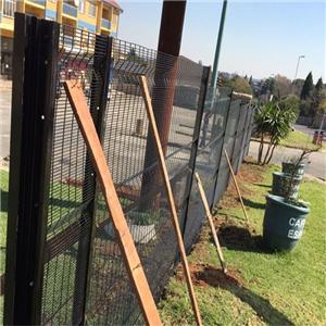 PVC Coated 358 Anti Climb Welded Mesh Fence