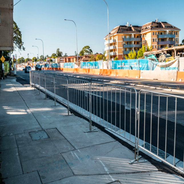 Steel Crowd Control Barriers Fence