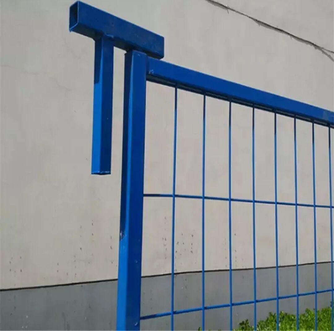 8ft Blue Welded Temporary Fence