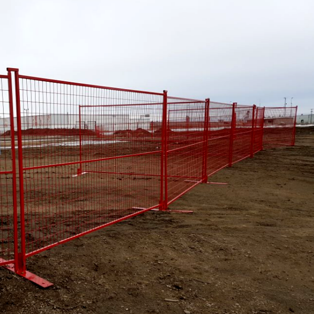 8.5ft Security Temporary Construction Fence