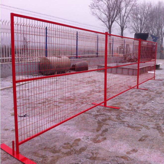 HDG Powder Coated Canada Portable Fence