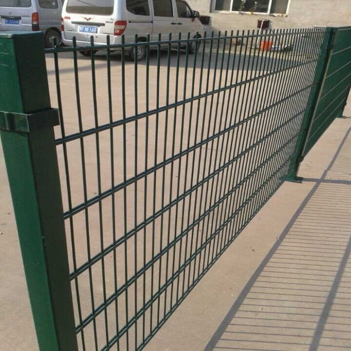 Rigidity Fence Panels 6 mm Green Color