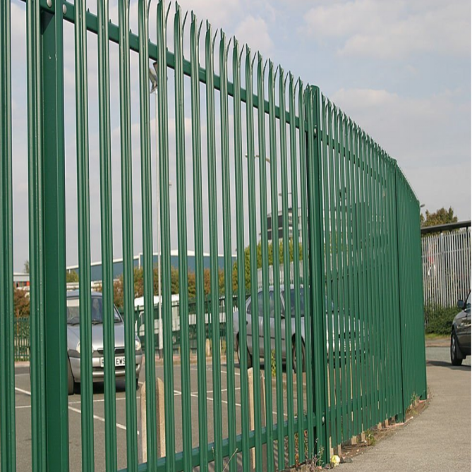 W Type Palisade Fence 1.8m Height