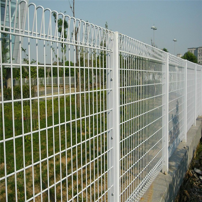Residential Galvanized BRC Welded Fencing