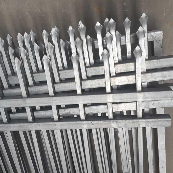 Galvanized Assembled Iron Fence Panel