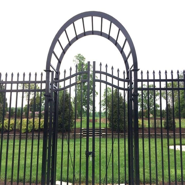 Wrought Iron Security Garden Fence