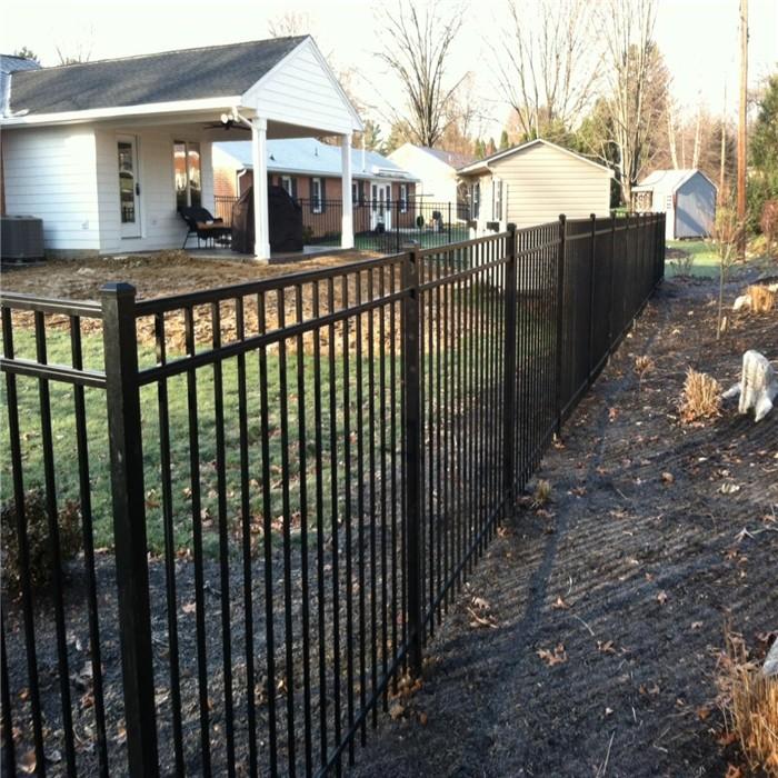 10ft Residential Aluminum Fence