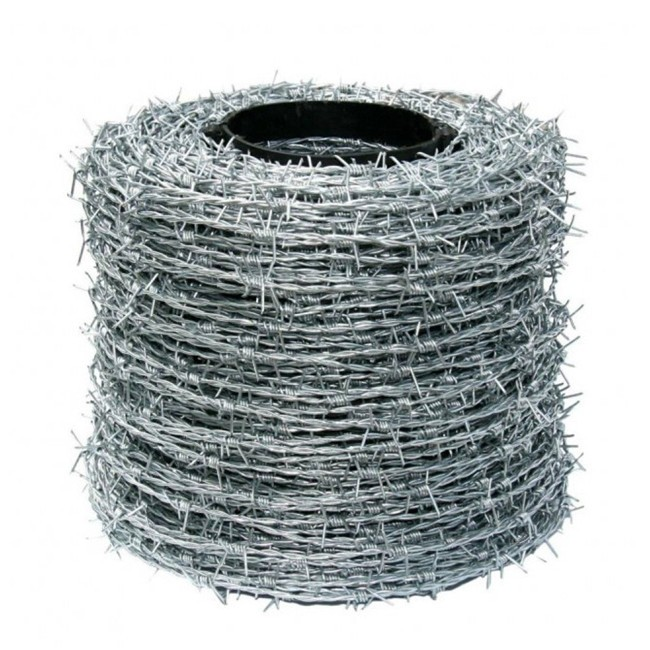 Double Twist Barbed Wire Galvanized