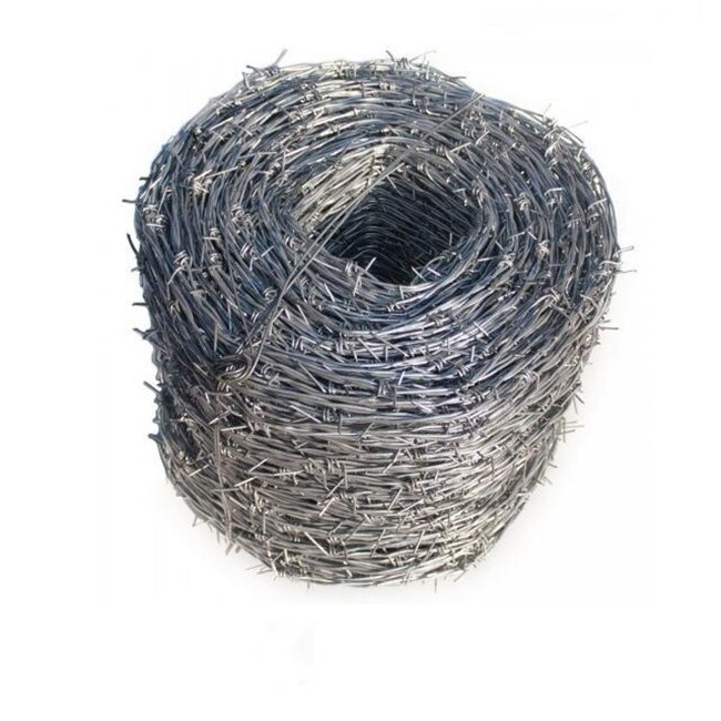 14BWG Galvanized Barbed Wire