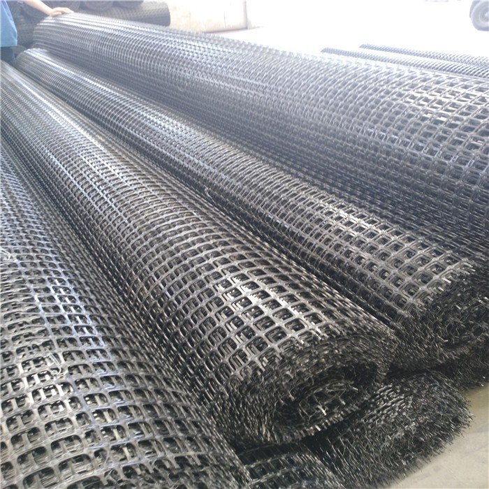 Strong Tensile Polypropylene Biaxial Geogrid