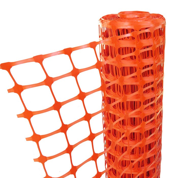 Plastic Orange Barrier Netting
