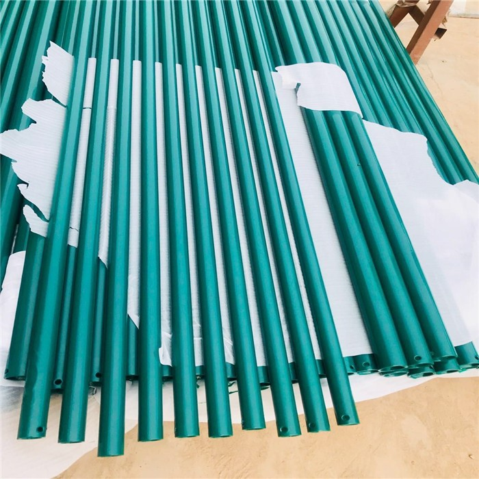 PVC Green Round Pipe