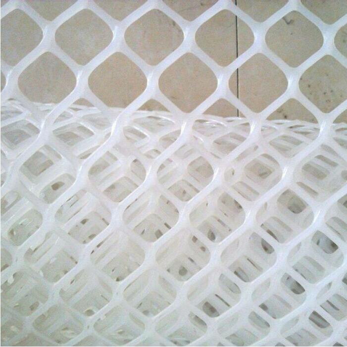 3cm White Plastic Flat Netting
