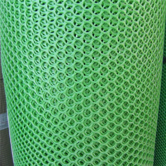 Dark Green Diamond Plastic Net