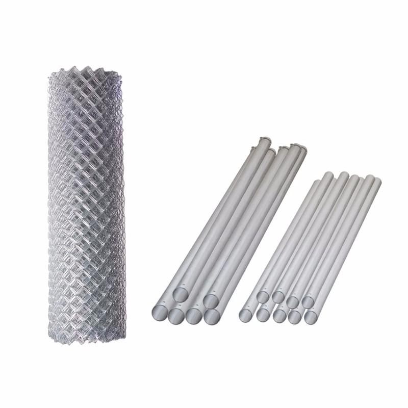 Galvanized Steel Diamond Mesh Wire Fence