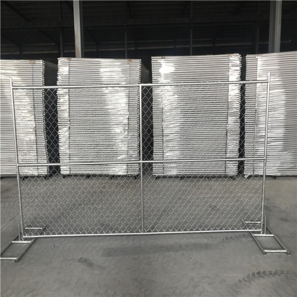 10ft Temporary Chain Link Fence Panel