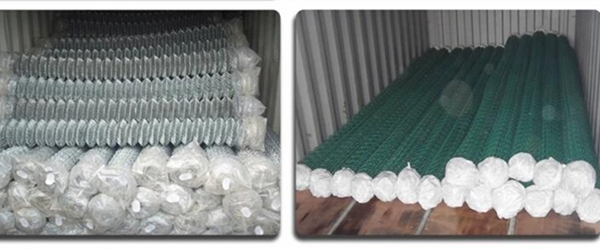Green Chain Link Wire Mesh