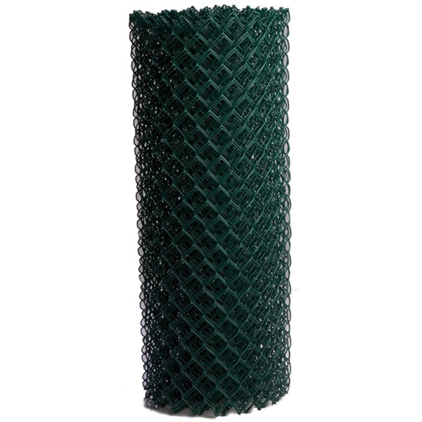 Green Galvanized Chain Link Wire Mesh