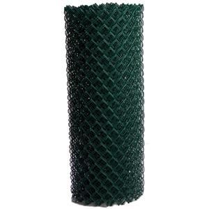 Green Galvanized Chain Link Wire Mesh