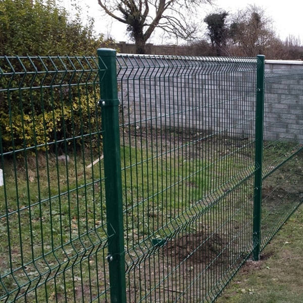 Curved Welded Mesh Fence