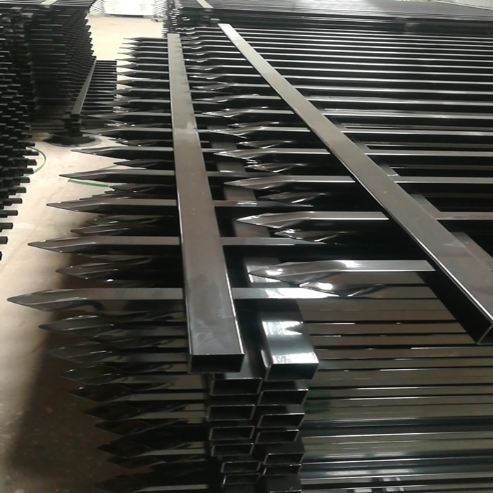 Ornamental Steel Fence Panel