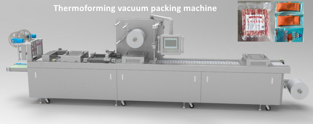 sausage thermoforming vacuum packaging machine