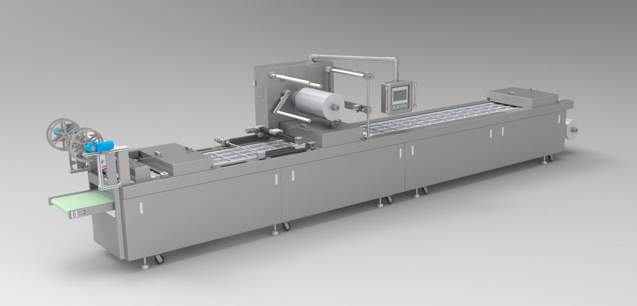 medical supplies thermoforming packaging machine