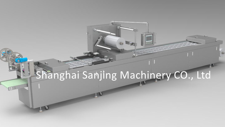 continuous automatic vacuum packer