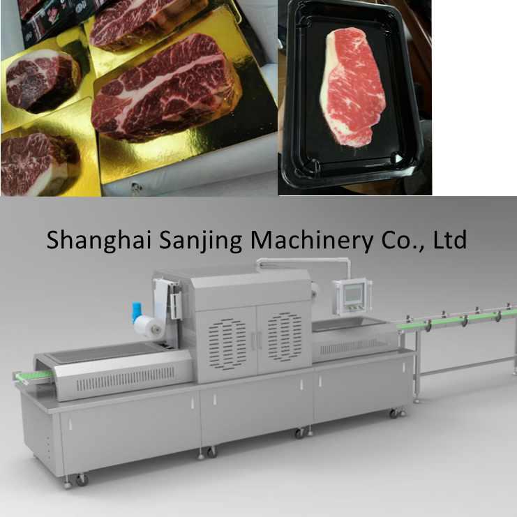 쇠고기 진공 스킨 포장 기계