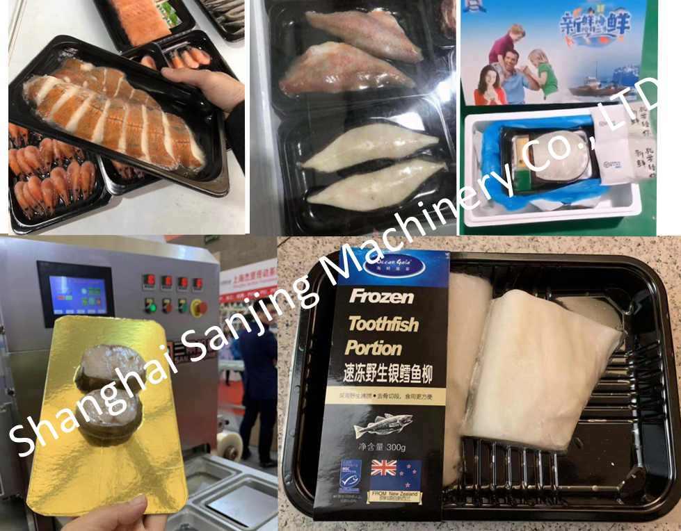 seafood vacuum skin packaging equipment