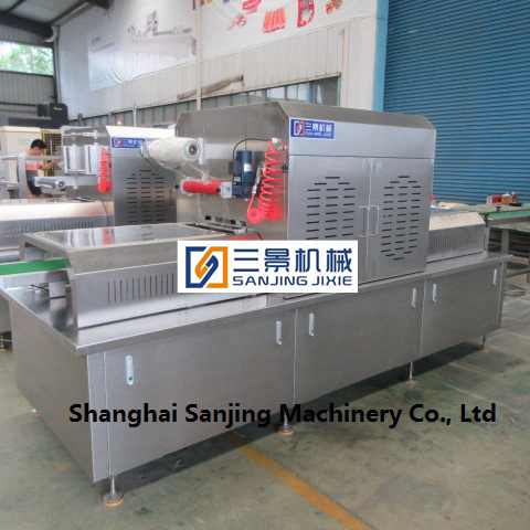 packing machine with modified atmosphere