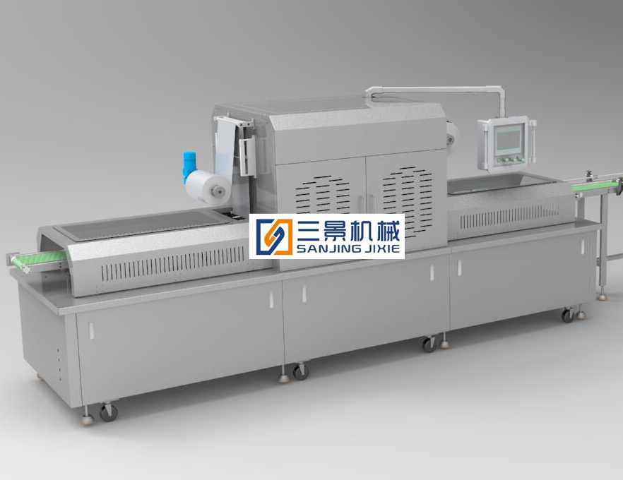 gas flush modified atmosphere packaging machine