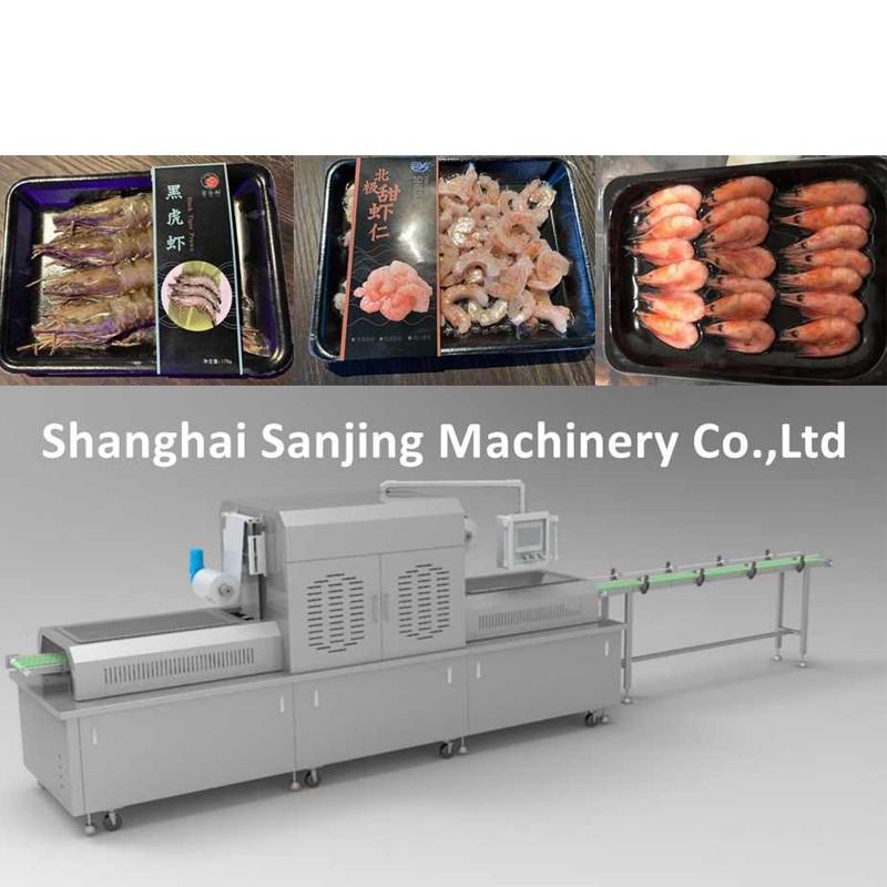 Shrimp Vacuum skin Packaging Machine