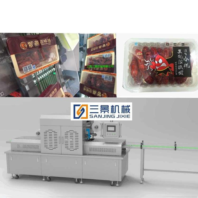 Automatic MAP Packaging Machine