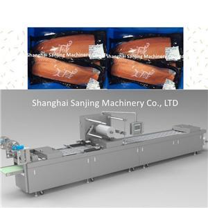 Whole Salmon Vacuum Packaging Machine