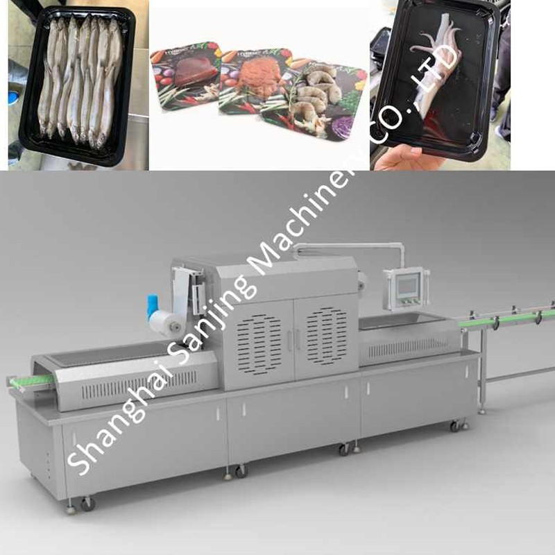 Máquinas de embalagem a vácuo