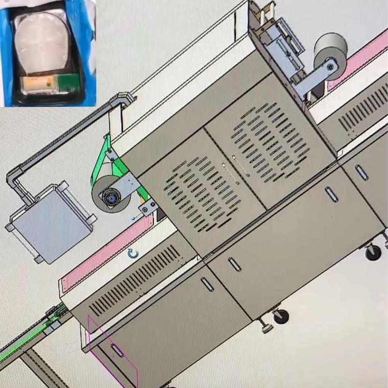 Sliced Cod Vacuum Packaging Machine