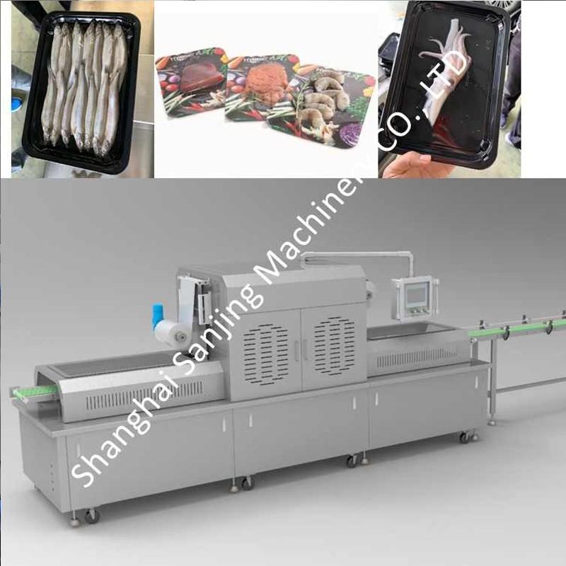 Seafood Vacuum Skin Packaging Machine