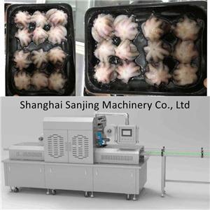 Macchine per l'imballaggio sottovuoto della pelle di polpo