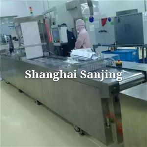 Masks thermoforming vacuum packing machine