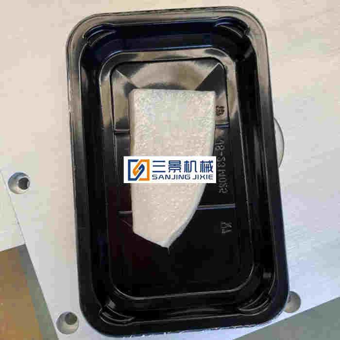 frozen seafood vacuum skin packaging machine