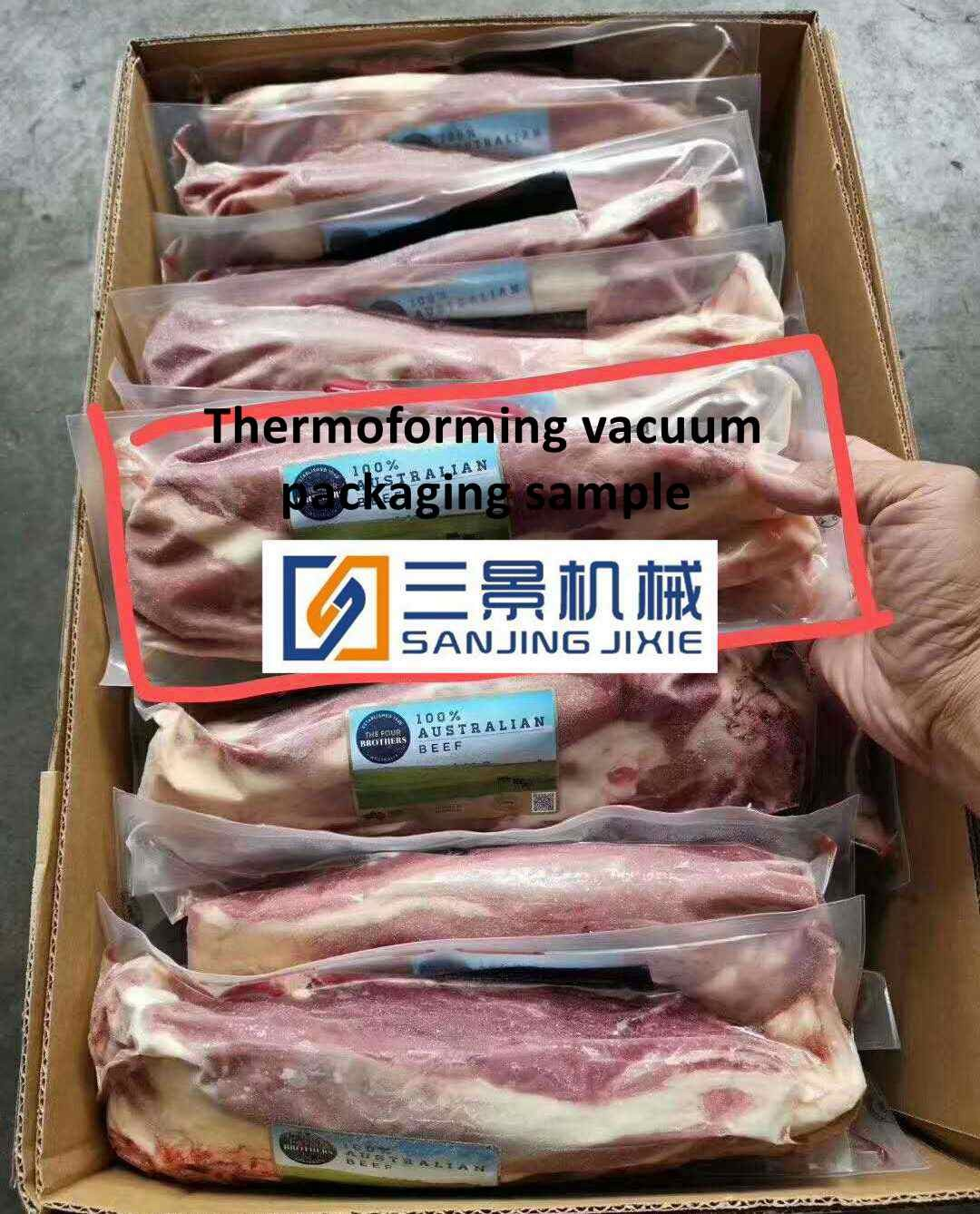 Bean Product Vacuum Packaging Machinery